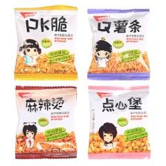五味园 PK脆Q薯条麻辣烫点心堡5斤 小包装薯片膨化零食休闲食品